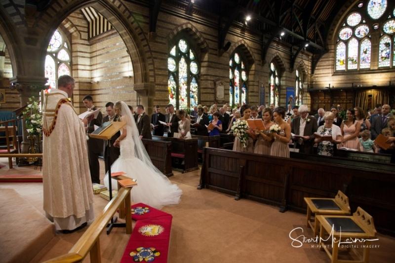 Wedding Ceremony at St John the Divine C of E Church