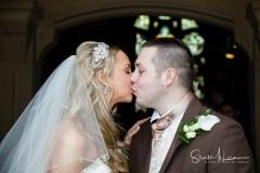 Kiss at the church door