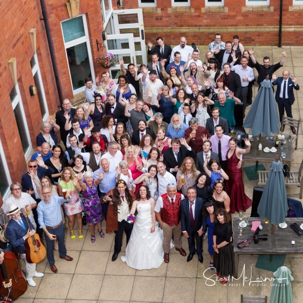Wedding Guests at Cheadle House