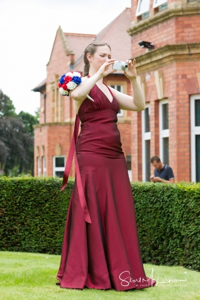 Bridesmaid at Cheadle House