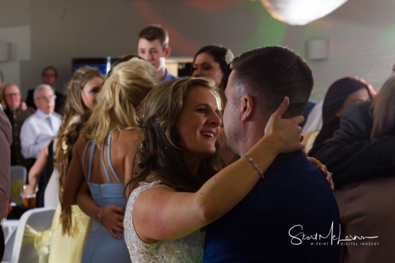 Intimate moment at Cranage Hall