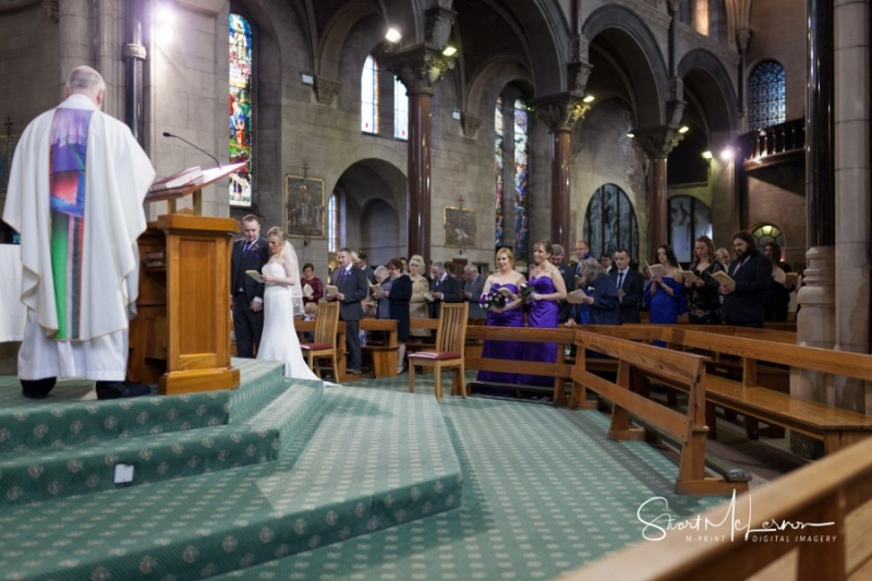 Wedding service at St Mary's Lowe House