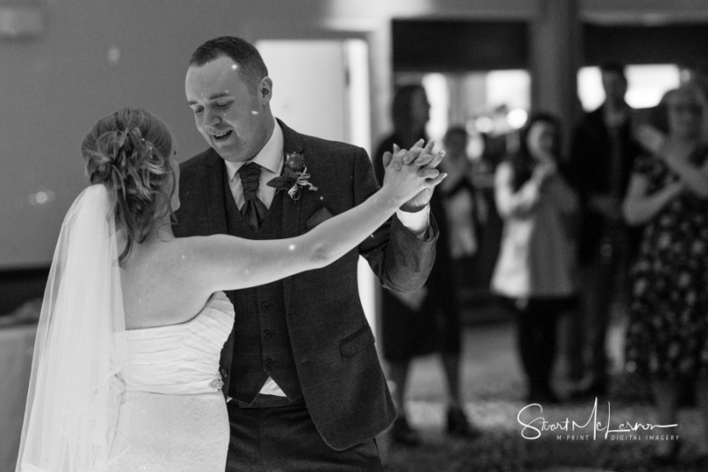 First dance at Ruskin Drive Sportsground
