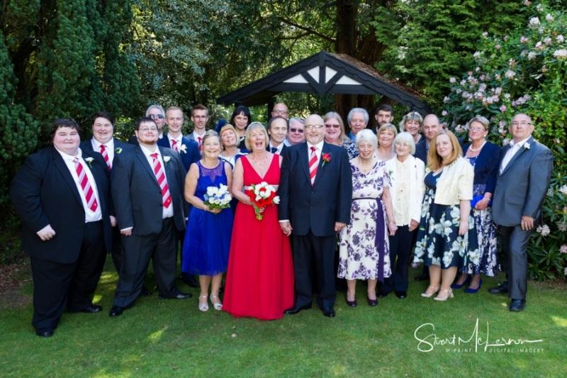 Wedding Group shot