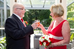 A toast to married life at The Deanwater Hotel, Woodford