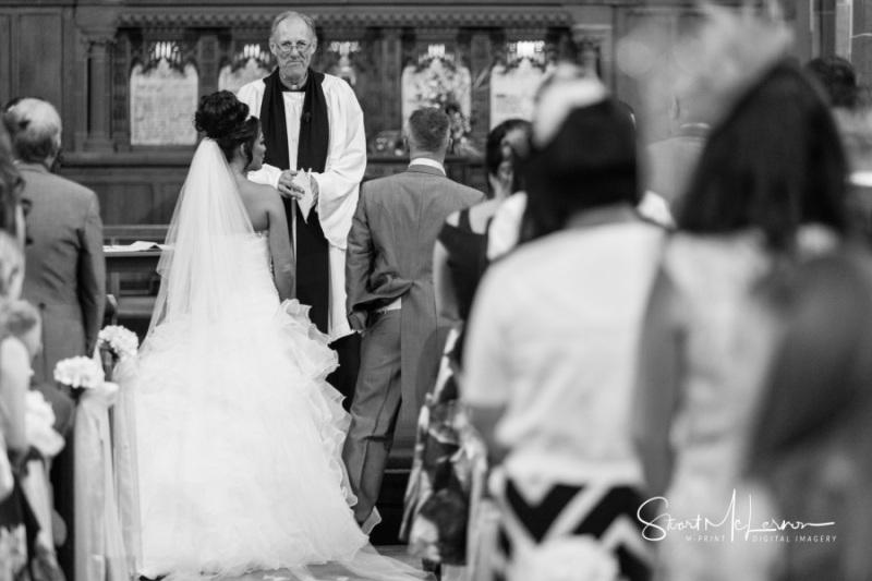 Wedding Ceremony underway