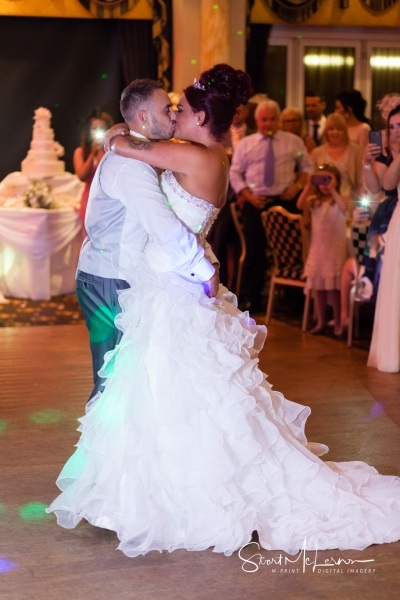 First dance at The Queen Hotel, Chester