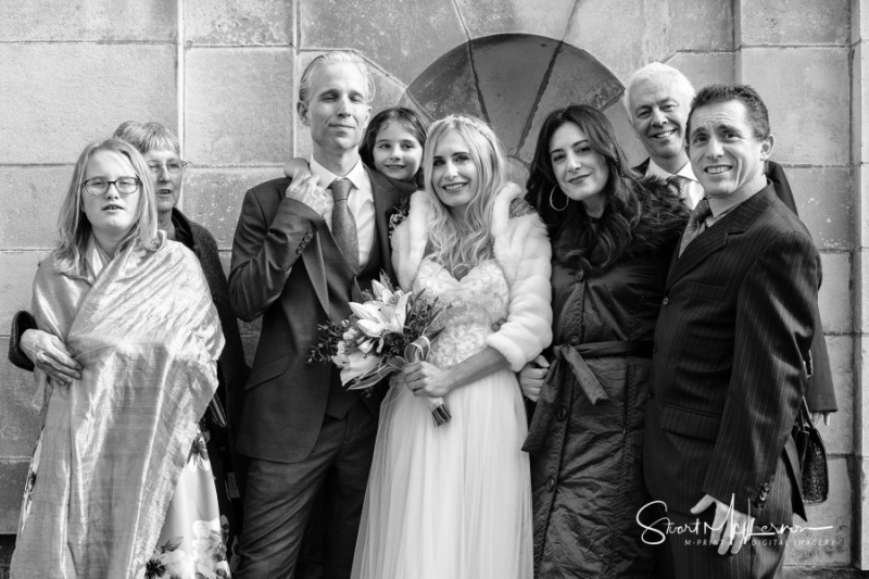 Bridal Family, Stockport Town Hall
