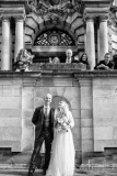 Bride and Groom Portrait, Stockport Town Hall