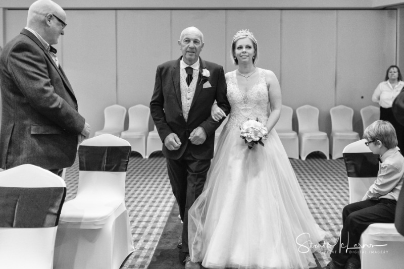 One of the Brides at The Forest Hills Hotel, Frodsham