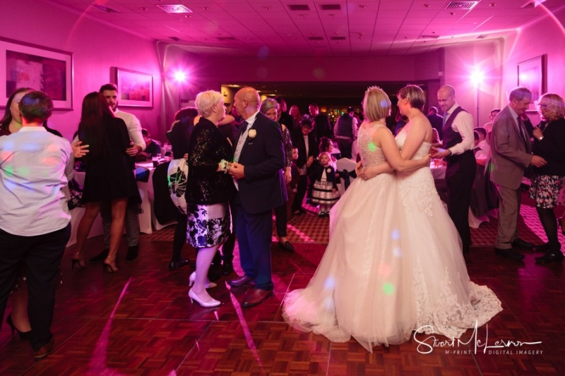 Same-sex first dance at The Forest Hills Hotel, Frodsham