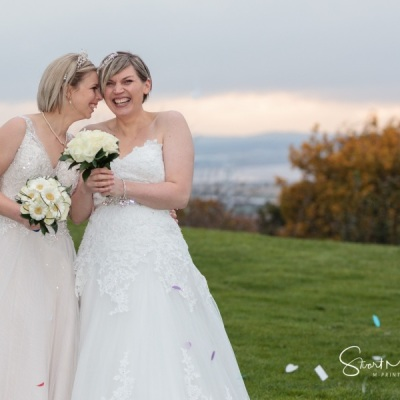 Same-sex wedding at The Forest Hills Hotel, Frodsham