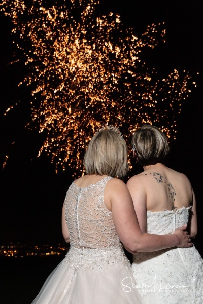 Firework display at The Forest Hills Hotel, Frodsham