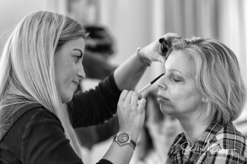 Wedding makeup at The Forest Hills Hotel, Frodsham