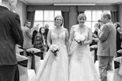 Two brides together at The Forest Hills Hotel, Frodsham