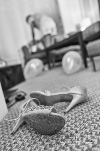 Shoes on the floor