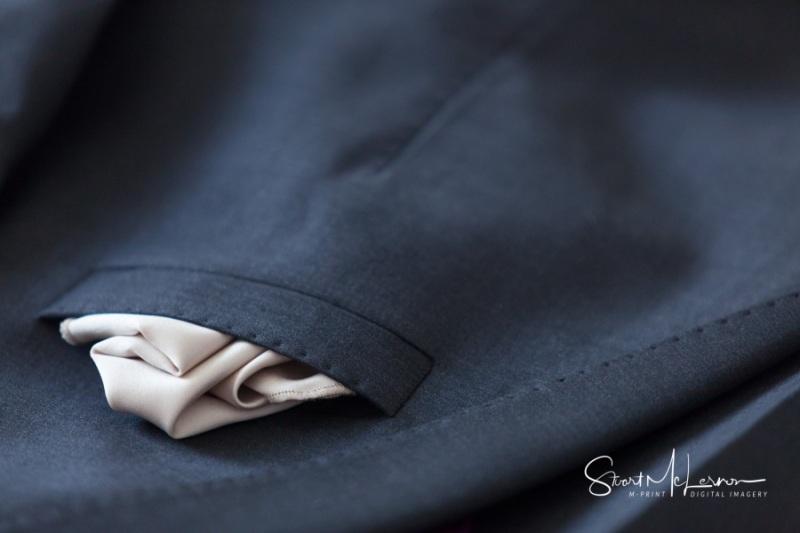 Handkerchief detail