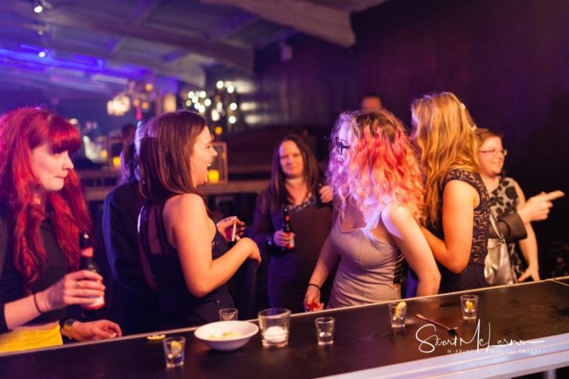 Ladies at the bar