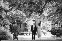 Dukinfield Park newlyweds