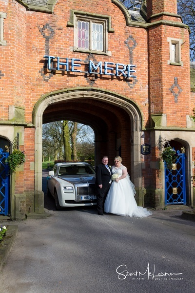 The Mere Golf Club Entrance