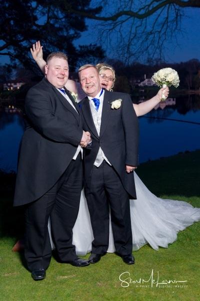 Bridal photobomb