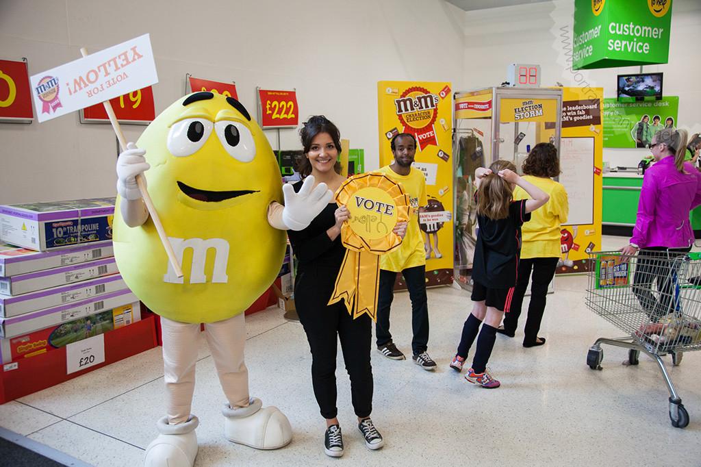 M&M's Election Campaign