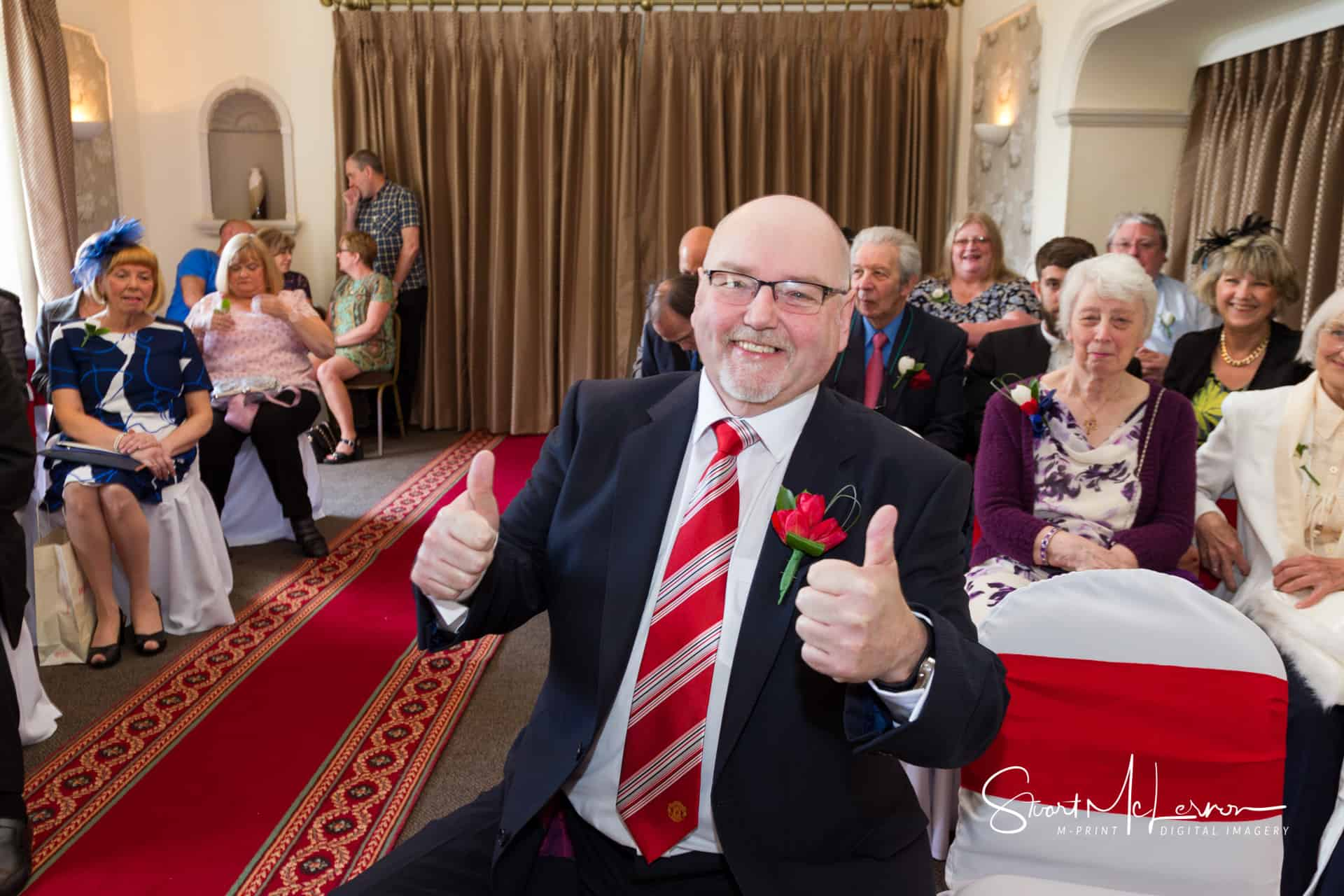 Wedding – Chris and Joe at Deanwater Hotel