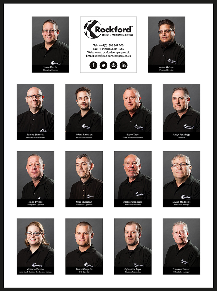 Corporate Headshots – Rockford Stone