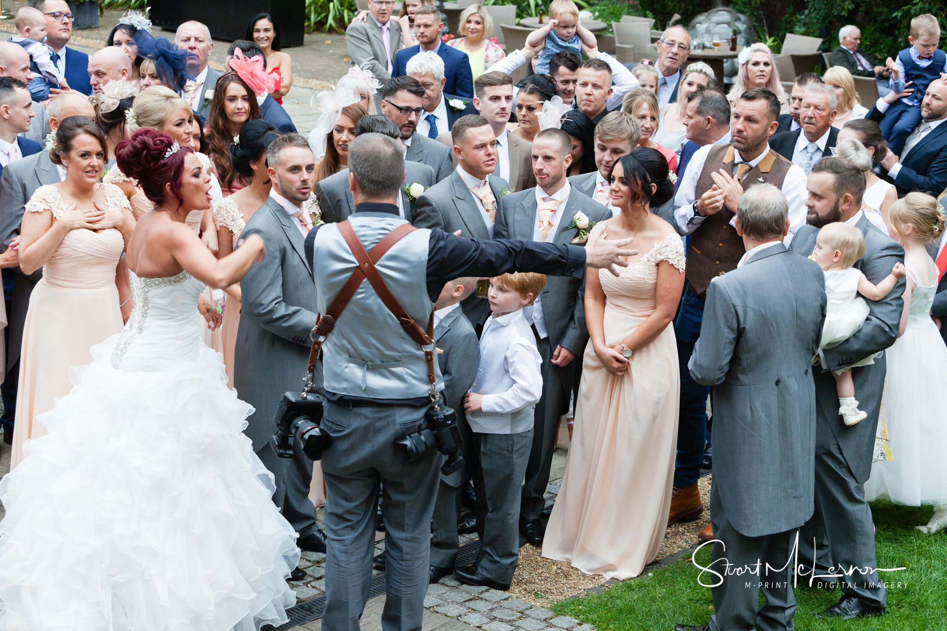 Queens Hotel Chester Wedding Photography by Stuart McLernon | M-PRINT Digital Imagery
