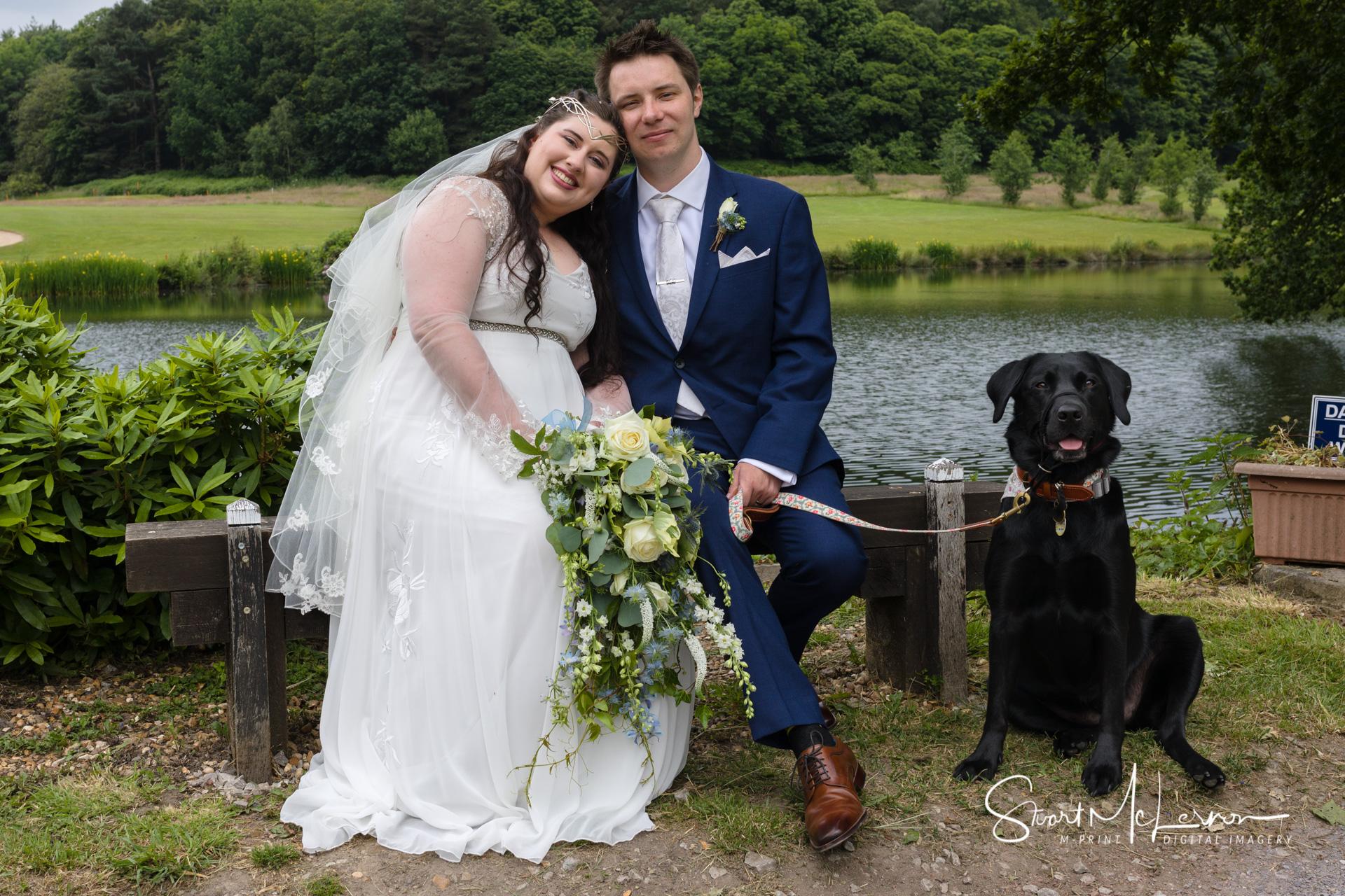 Shrigley Hall Wedding
